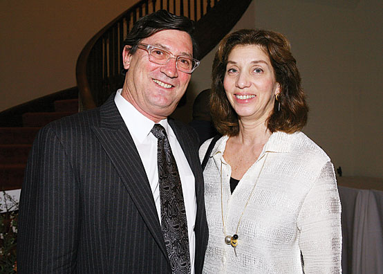 Rob Steinberg and Alice Erber, Co-chairs of the Gala committee