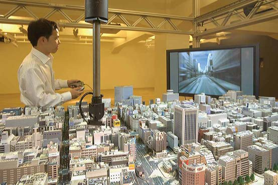 The Ginza District under examination at the Tokyo Simulation Laboratory