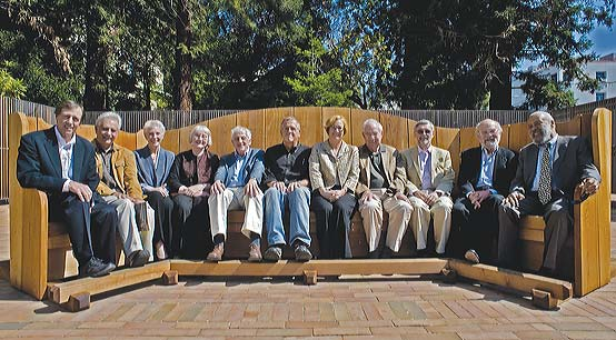 Reconstruction of the bench that originally graced North Gate Hall (The Old Ark)