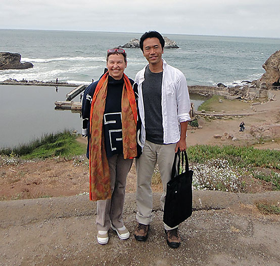 Professor Dana Buntrock and Japanese architect Mr. Masatoyo Ogasawara