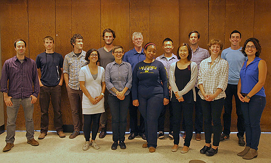 Group photo of Vertical Cities CED student participants