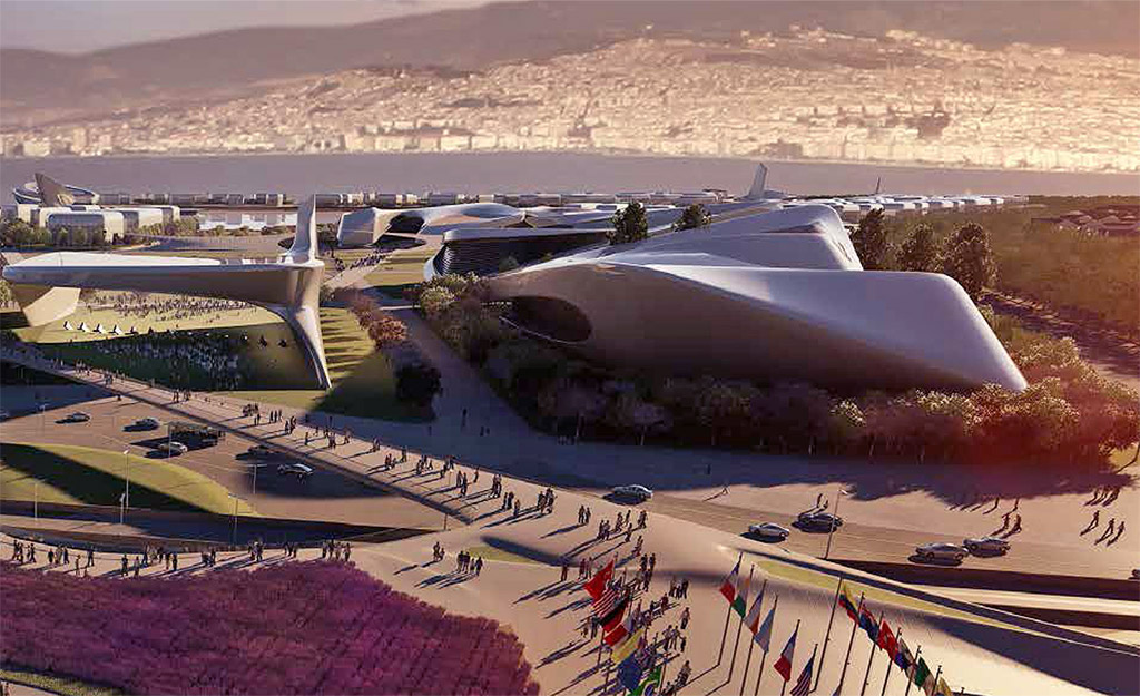 Concept for proposed Master Plan for the EXPO 2020 İzmir