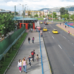 Understanding the Environment Around Mass Transit Stops in Latin America