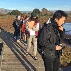 CED GAP students on a field trip to Don Edwards Wildlife Refuge – Education Center, Alviso.