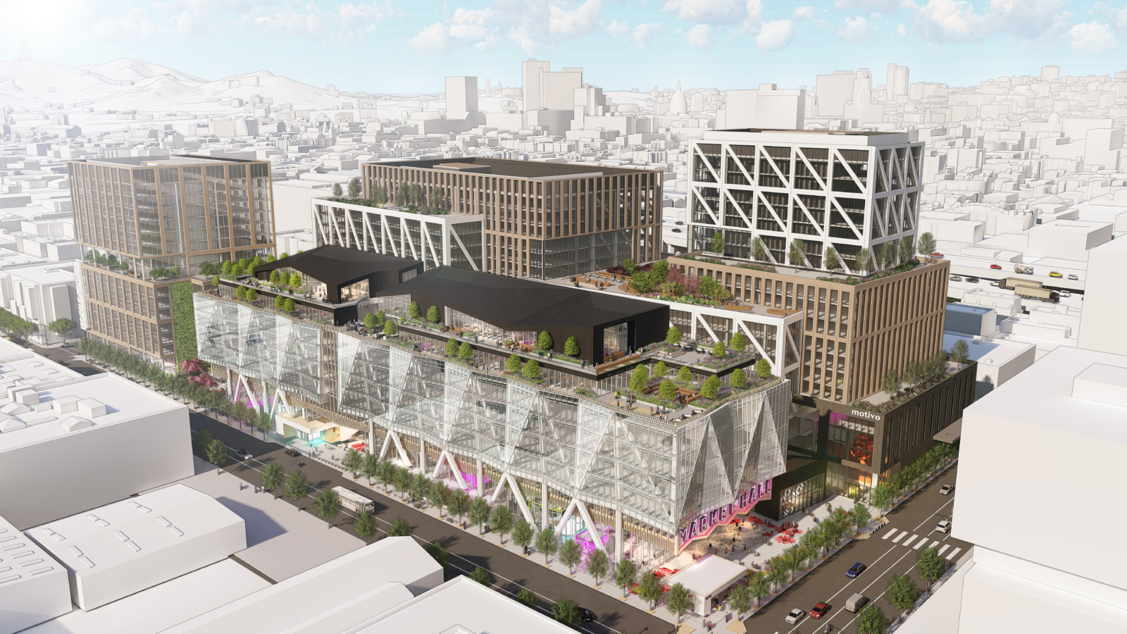 San Francisco Flower Mart Project